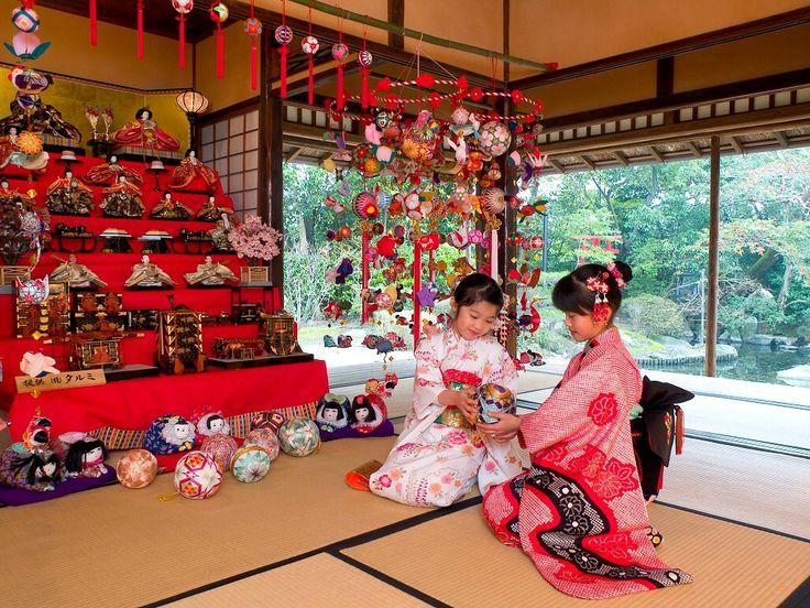 Doll's Festival for girl Girl's Day Doll's Festival ひな祭り