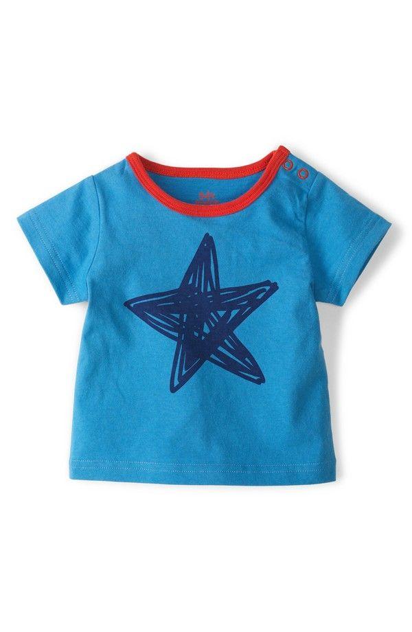 Mini boden star graphic t shirt baby boys minis for Mini boden winter 2016