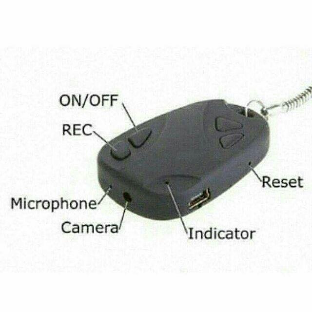 Kamera Mini Gantung  Harga 130.000  Yaitu Kamera pengintai kecil /spy camera yang bentuknya mirip remote mobil bisa ambil foto dan rekam video.  Buat kamu yg suka merekam kejadian lucu teman2 kamu/candid aksi spy kamu gak bakal ketauan oleh siapapun   Kamera ini bisa merekam video hingga 60-70 menit selain itu resolusi dari kameranya tinggi Dan menghasilkan kualitas gambar yg cukup baik.  Spesifikasi : video format : AVI Video encoding : MJPEG Video resolution : 720X480 VGA Video frame rate…