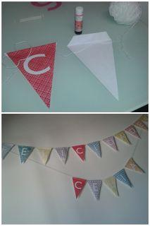 Banderines de letras imprimibles y gratis