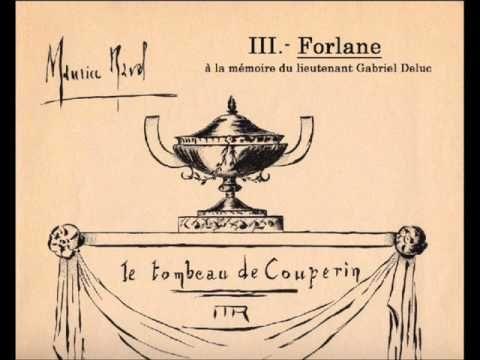 Ravel - Le Tombeau de Couperin, orchestration complète - YouTube