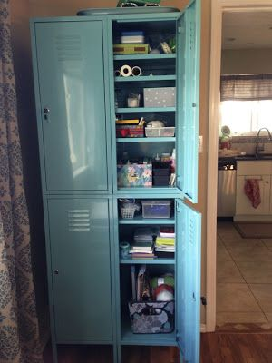 Ikea Lockers, tons of storage. Delineate Your Dwelling: One Locker down, One Locker to go