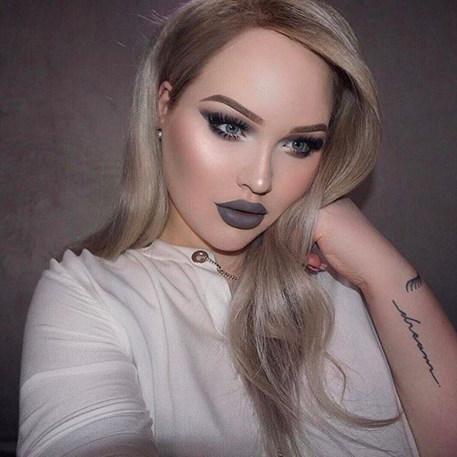 It's a concrete jungle out there. Wear grey lipstick like @nikkietutorials in our #AlwaysOn Matte Liquid Lipstick in Chill Zone (deep/cool grey) . P.S. And happiest of birthdays to this one-and-only!