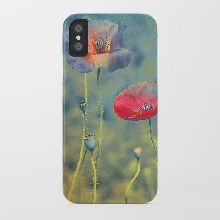 Buy Vintage poppies (9) iPhone Case by maryberg. Worldwide shipping available at Society6.com. Just one of millions of high quality products available.