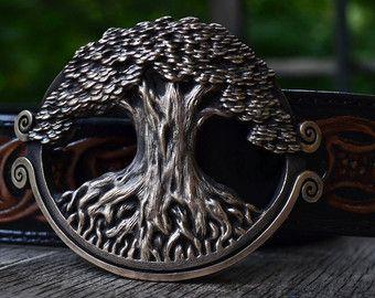 Yggdrasil: De boom van de wereld. Koude-cast reliëf door AricJorn