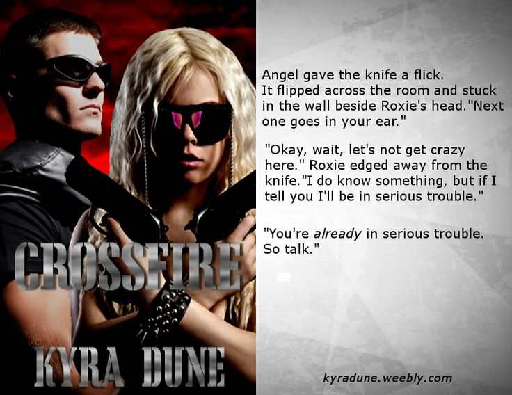 Crossfire by Kyra Dune
