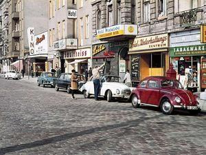 Stuttgarter Platz West-Berlin, 1962 (fotografiert von Heinz Noack)