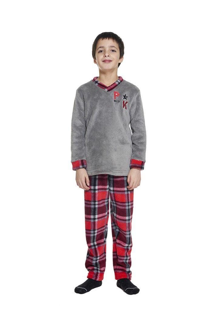 rebajas en moda íntima pijama para niño otoño invierno belty