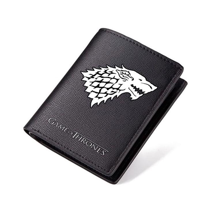 Game of Thrones Black Wallet //Price: $28.62 & FREE Shipping //     #jonsnowlives #TeamStark