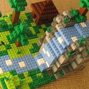 @Ashley Walters Walters Walters Walters Walters Holt Show this to Kevin! lego minecraft set?
