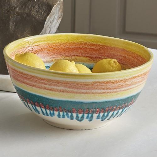 Tropical Colored Decorative Bowl