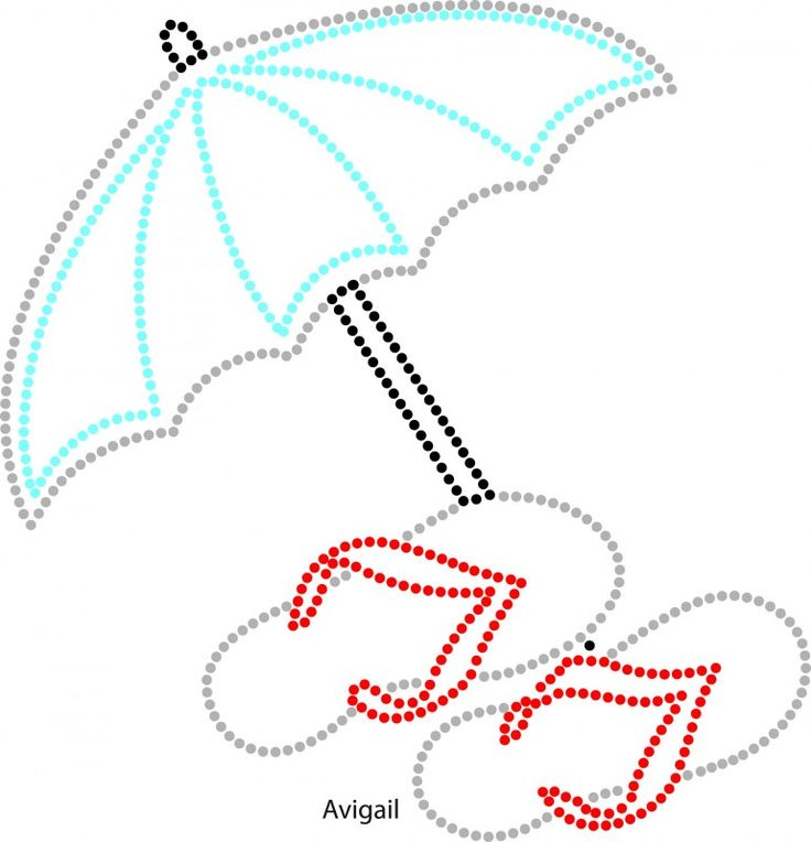 Slippers en parasol
