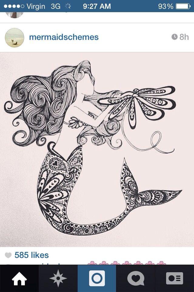 1000+ ideas about Mermaid Tattoo Designs on Pinterest ...