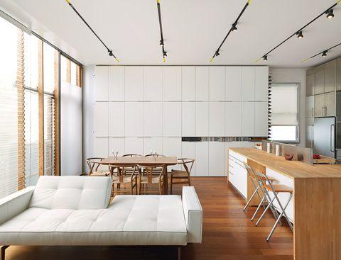 white + wood / photograph by justin fanti / dwell