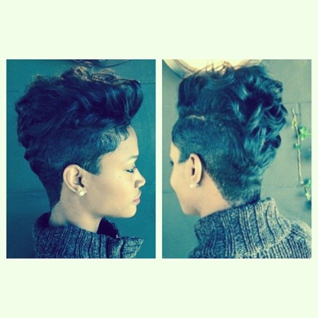 Fly Short Hairstyle