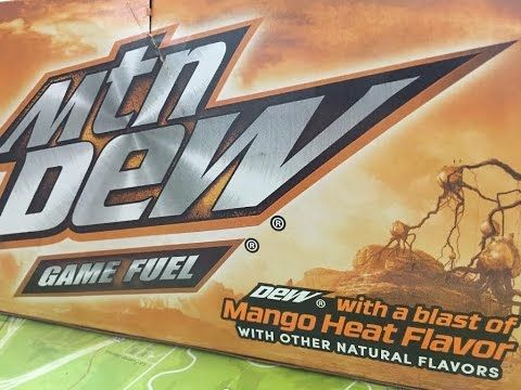 Mountain Dew Mango Heat (Game Fuel) Review