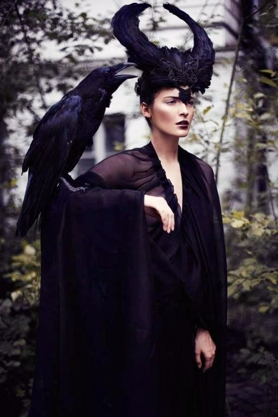 """....and Raven whispered in her ear: """"nevermore""""...... :)"""
