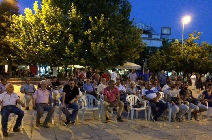 Πολιτική συγκέντρωση πραγματοποίησε το ΚΚΕ στην Ελασσόνα