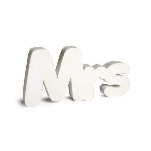 ...Mrs. always Right!   #Hochzeitsdeko #Schriftzug #Wedding #Hochzeit