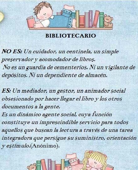Ser bibliotecologos