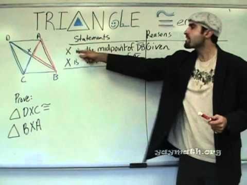 ▶ Geometry - Triangle Congruence (SSS, SAS) - YouTube