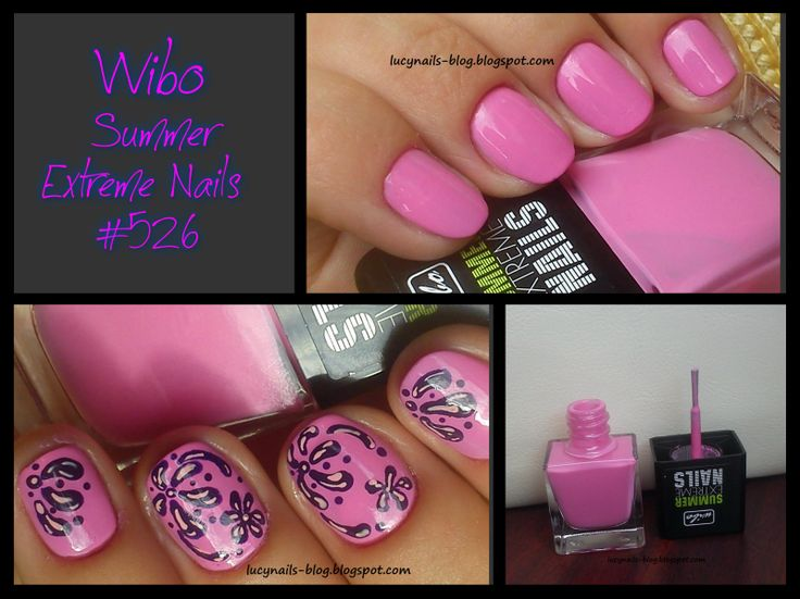 Wibo Summer Extreme Nails nr.526