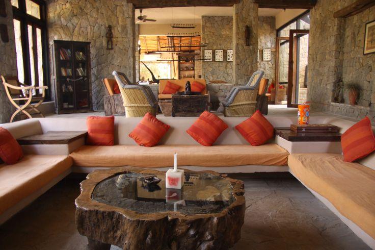 Comfortable, earthy and one with nature. The Kanha Earth Lodge, Madhya Pradesh.  www.kanhaearthlodge.com