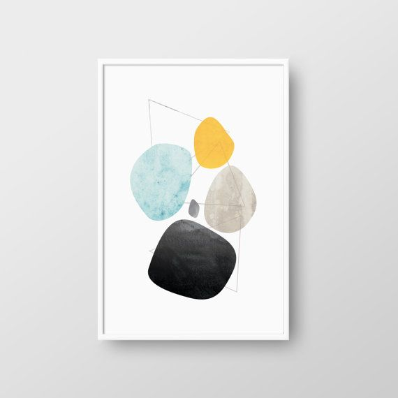 Printable Mid-Century Poster Mid-Century by DreamPrintDesigns