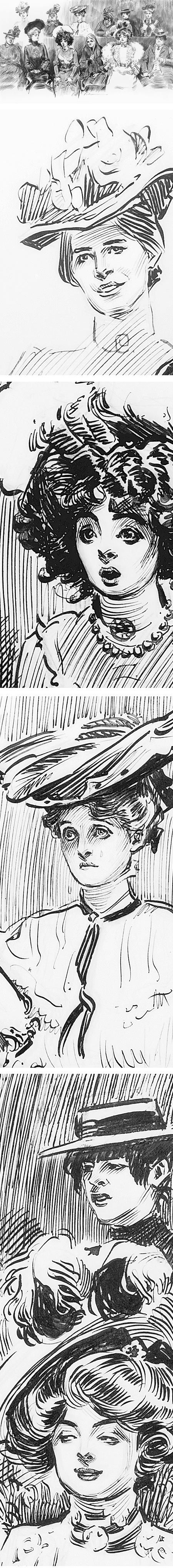 Studies In Expression. When Women Are Jurors, Charles Dana Gibson