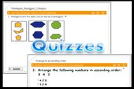 Math Test for Fourth (4th) Grade  This is an end of term test for children ending Grade 4. It could also serve as a placement test for fifth (5th) graders. It contains 44 problems on all Math topics covered in Grade 4. Give children more practice by allowing them do the quiz.The quiz lasts for 44 minutes. View and take test below.