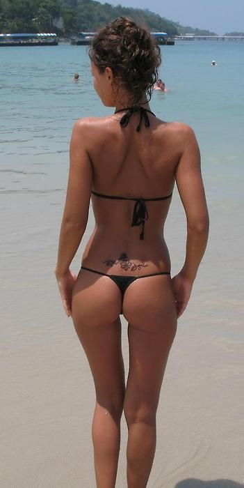 Perfect Ass In Bikini