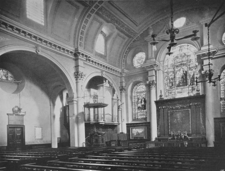 Plate 141: Cordwainer, Church of St. Mary Le Bow, Interior | British History Online