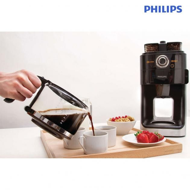 Philips Grind & Brew Coffee Maker HD7762/00