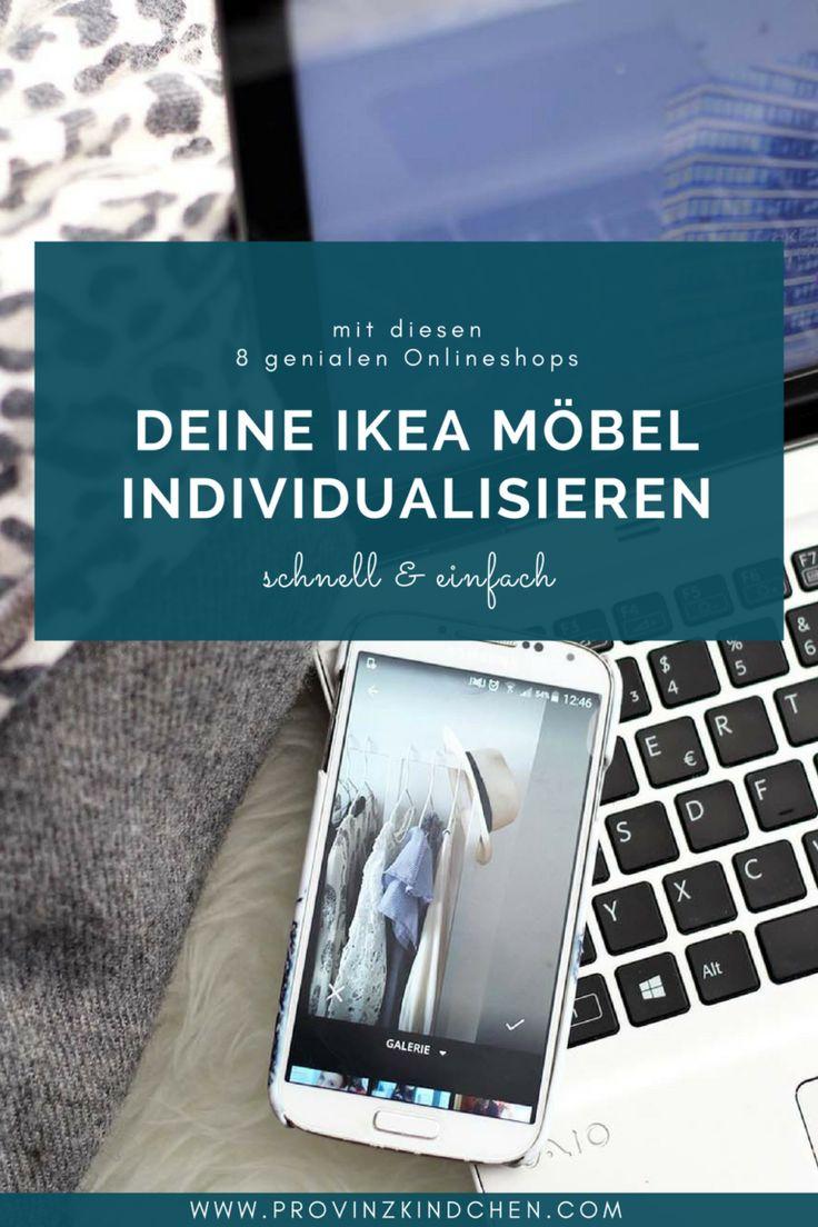 Mithilfe dieser 8 Onlineshops kannst du deine IKEA Möbel individualisieren