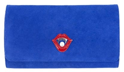 Minna Parikka: Women Are Dangerous Animals Clutch blue