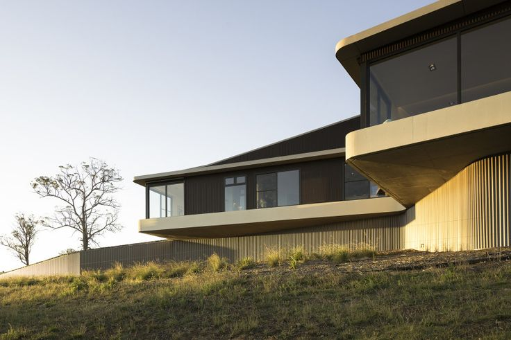 Concrete country house soffit