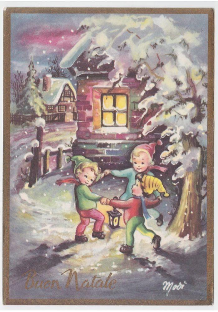 Oltre 25 Idee Originali Per Cartolina Buon Natale Su
