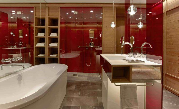 Bathroom at the W
