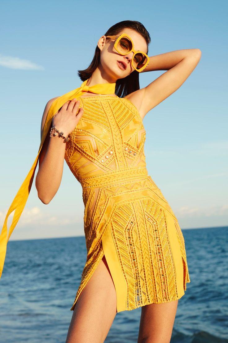 Sibui Nazarenko | Colorful Fashion Editorial | Harper's Bazaar en Español