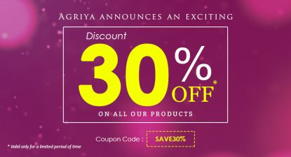 Agriya announces an exciting 30% discount across all of its clone scripts and apps  Apply this coupon code for availing the offer – SAVE30% Find more about this offer here, https://goo.gl/8hHfLP  #AgriyaOffer #WebDevelopment #AppDevelopment