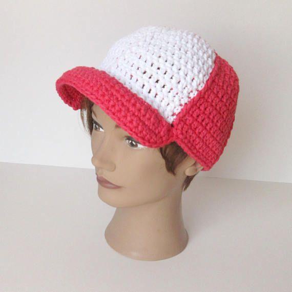 Casquette trucker en coton, casquette baseball crochet, chapeau été, plage, enfant, bébé, chapeau soleil, bonnet crochet, fait à la main