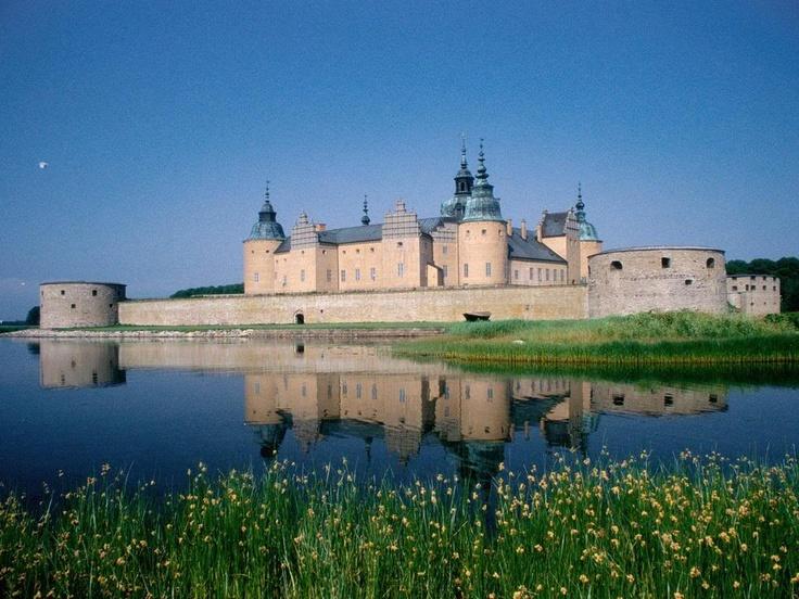 Kalmar Castle,  Sweden: Tourist Attraction, Destinations, Sweden, Favorit Place, Kalmar Castles, Palaces, Lakes, Place To Visit, Travel Place