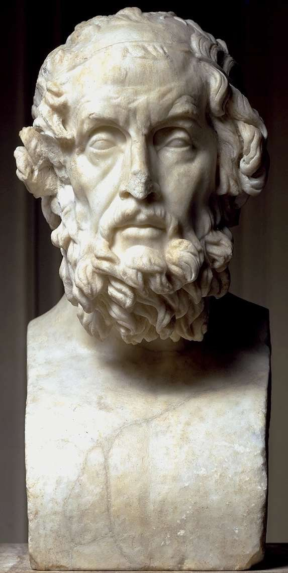 the odyssey homers famous work during the greek era The top 10 ancient greek artworks most of the classical nudes in museums were carved in marble in the roman era in homer's odyssey.