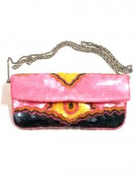 KC Malhan Simone Medium Clutch. Buy @ http://thehubmarketplace.com/index.php?route=product/product&product_id=3128