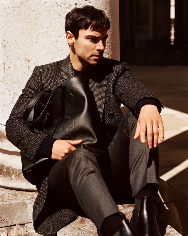 Aidan Turner Alfred Dunhill Campaign For fall 2017