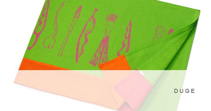 Duge. 5 designs i forskellige farver. http://shop.kurage.dk/kokken-spisestue/duge.html