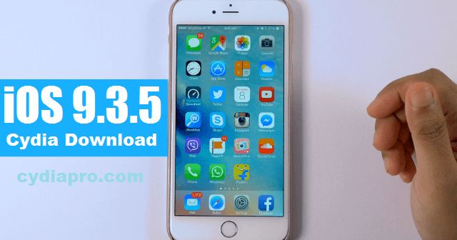CydiaPro Cydia installer tool also upgraded their tool for iOS 9.3.5 update. Now CydiaPro iOS 9.3.5 Cydia installer is compatible with all iPhone, iPad and iPod models which running on iOS 9.3.5 or iOS 9.3.4. This online Cydia installer tool is specifically made to allow device users to download Cydia iOS 9.3.5, iOS 9.3.4 and lower iOS versions.