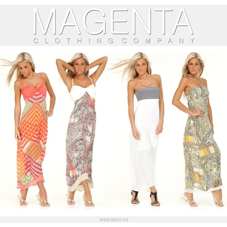 Maxi dress Magenta