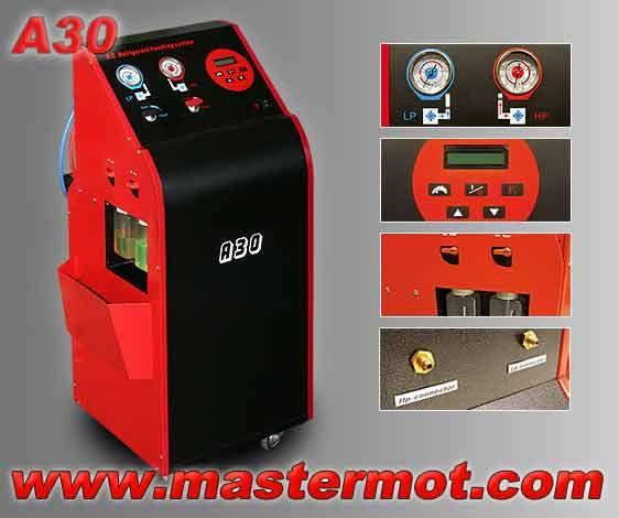 stacja klimatyzacji A30 maszyna do klimatyzacji A30  importer: www.mastermot.com  ul. Krakowska 290, 32-091 Michałowice k/Krakowa