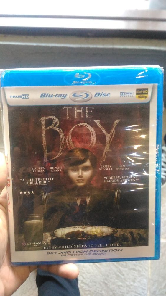 The Boy Blu-Ray HD Picture Free Shipping